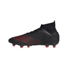 adidas Predator 19.1 Firm Ground Boots - Black