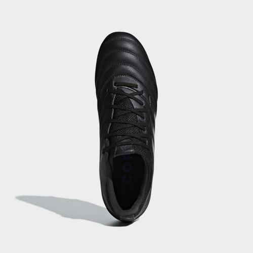 adidas Copa 19.3 Firm Ground Boots JR - Core Black/Core Black/Grey Six