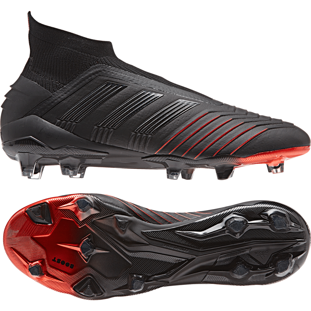 69c997b3abafbf ... good adidas predator 19 firm ground boots black black red aa910 3f087