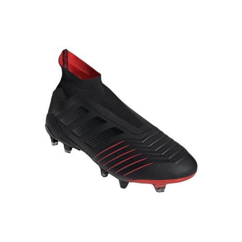 bd0313310b1 ... adidas Predator 19+ Firm Ground Boots - Black Black Red ...