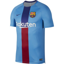 Nike Dry FC Barcelona Squad Jersey - Equator Blue/Deep Royal