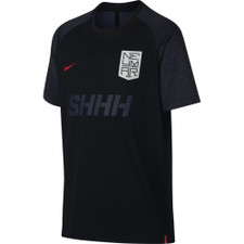 Nike Dri-Fit Neymar T-Shirt - Black/Challenge Red
