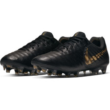 Men's Nike Legend 7 Elite Firm Ground - Black/Gold
