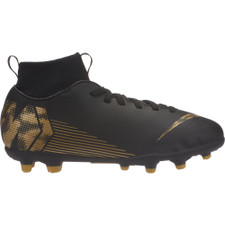 Nike Jr. Superfly 6 Club - Multi-Ground - Black/Gold