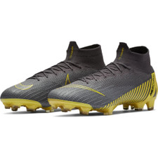 Nike Superfly 6 Elite Firm Ground Boot - Grey/Black