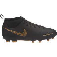 Nike Jr. Phantom VSN Club Firm Ground Boot - Black/Gold