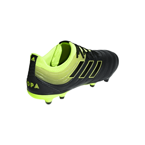 adidas Copa 19.3 Firm Ground Boots - Black/Yellow