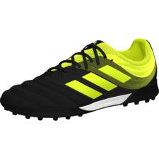 adidas Copa 19.3 Turf Boots - Black/Yellow