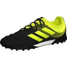adidas Copa 19.3 Turf Boots - Black/Yellow
