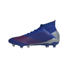 adidas Predator 19.1 Firm Ground Boots - Blue/Silver