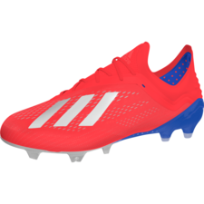 adidas X 18.1 Firm Ground Boots - Red/Silver/Blue