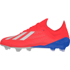 official photos ebf52 f422f adidas X 18.1 Firm Ground Boots - Red/Silver/Blue