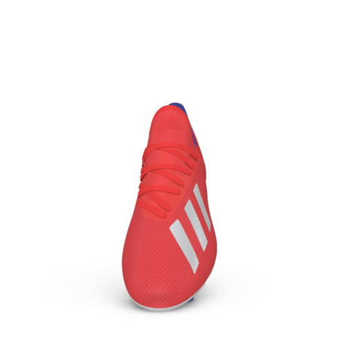 adidas X 18.3 Firm Ground Boots - Red/Silver/Blue