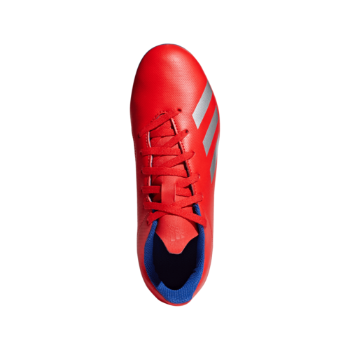 adidas X 18.4 Flexible Ground Boots Jr - Red/Silver/Blue
