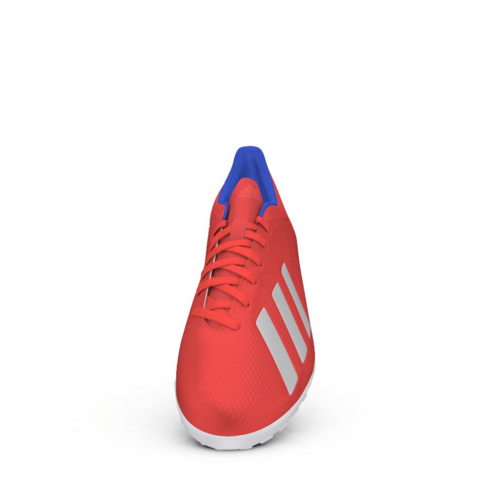 adidas X Tango 18.4 Turf Boots - Red/Silver/Blue