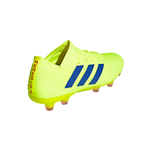 427edf59ac9f ... adidas Nemeziz 18.1 Firm Ground Boots - Yellow Blue Red ...