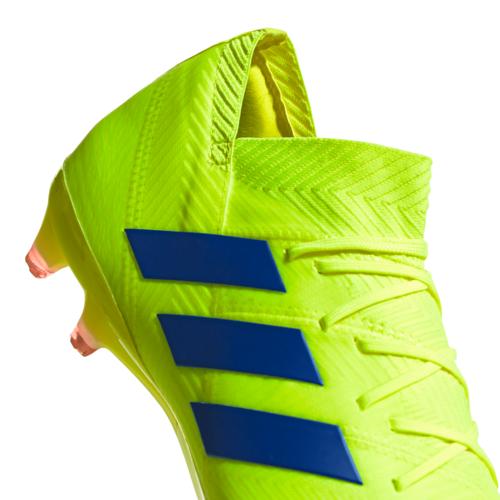 adidas Nemeziz 18.1 Firm Ground Boots - Yellow/Blue/Red