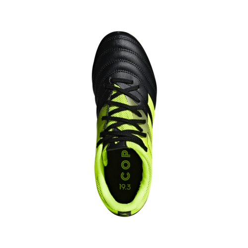 adidas Copa 19.3 Firm Ground Boots Jr - Black/Yellow