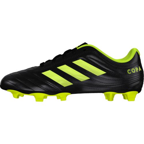 adidas Copa 19.4 Flexible Ground Boots Jr - Black/Yellow