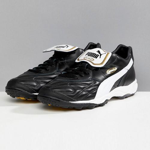Puma King Allround Indoor Boot - Black/White/Gold