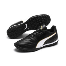 Puma Capitano II TT Artificial Turf Boot - Black/White/Gold