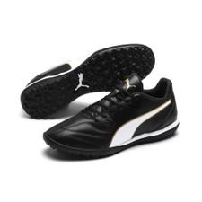 Puma Capitano II TT Artificial Turf Boot - Black/White/Gold