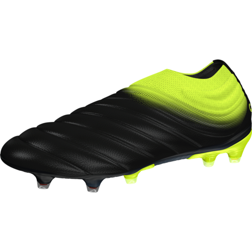adidas Copa 19+ Firm Ground Boots - Black Yellow  207139103
