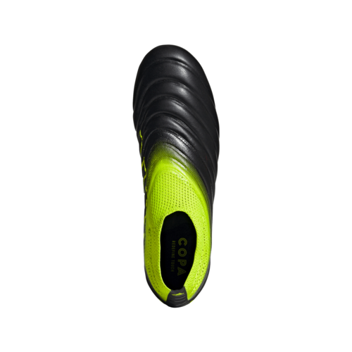 adidas Copa 19+ Firm Ground Boots - Black/Yellow