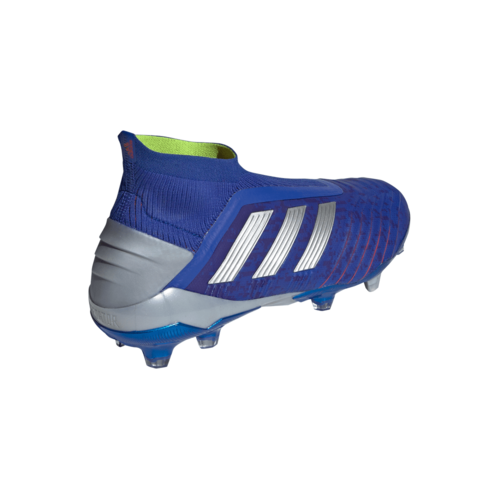 1013aea75ac ... adidas Predator 19+ Firm Ground Boots - Bold Blue Silver Red ...