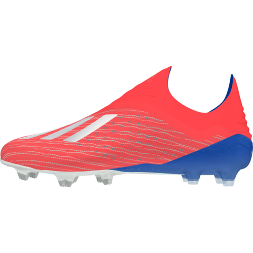adidas X 18+ Firm Ground Boots - Red/Silver/Blue