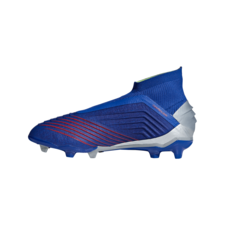 adidas Predator 19+ Firm Ground Boots Jr - Blue/Silver
