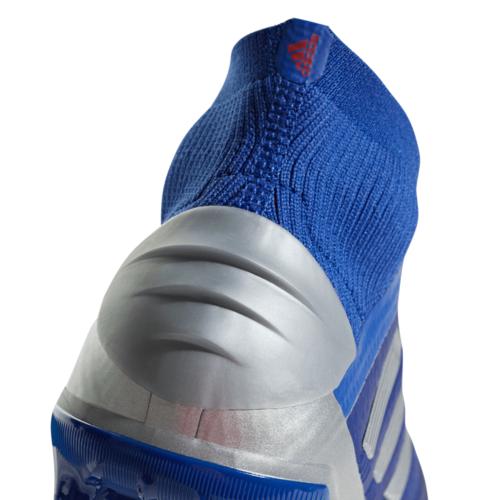 adidas Predator 19+ Firm Ground Boots Jr - Blue/Silver