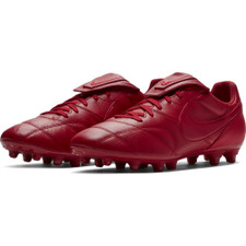 Men's Nike Premier II Firm Ground Boot Football Boot - Red
