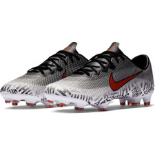 Neymar Vapor 12 Pro Firm Ground Boot - White/Red/Black