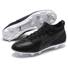 Puma ONE 19.3 Firm Ground Boot - Black/White
