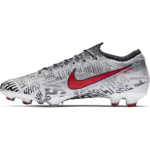 Nike Neymar Vapor 12 Elite Firm Ground Boot - White/Red/Black