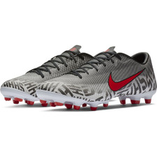 Nike Neymar Vapor 12 Academy Firm Ground Boot - White/Red/Black