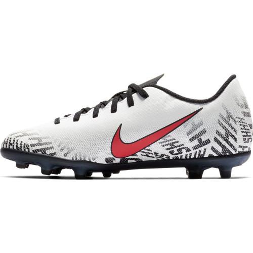 Nike Neymar Jr, Vapor 12 Club Firm Ground Boot - White/Red/Black