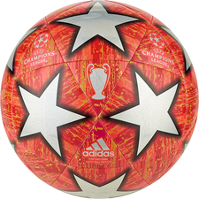 adidas UCL Finale Madrid Top Capitano Ball - Red/Silver/Orange
