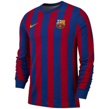 Nike FC Barcelona Long Sleeve - Blue/Red