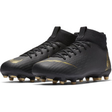 Nike Jr. Superfly 6 Academy Firm Ground Boots - Black/Gold