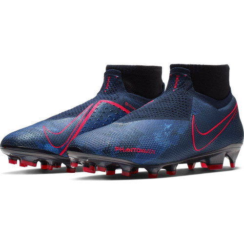 Nike PhantomVSN Elite Dynamic Fit Firm Ground Boots - Black/Blue