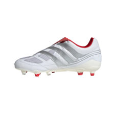 adidas Predator Precision Firm Ground David Beckham Boots - White/Silver/Red
