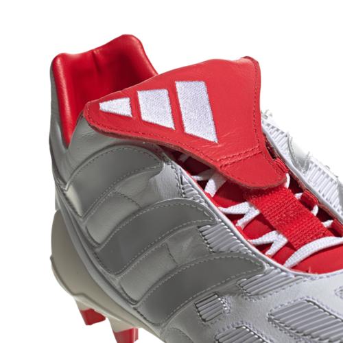 adidas Predator Precision Firm Ground David Beckham Boots - White/Silver/Red