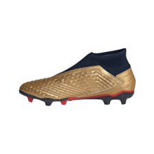 adidas Predator 19.3 Firm Ground Zinédine Zidane Boots - Gold/Navy/Red