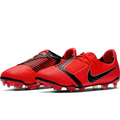 Nike Je Phantom Elite Firm Ground Boots - Red/Black