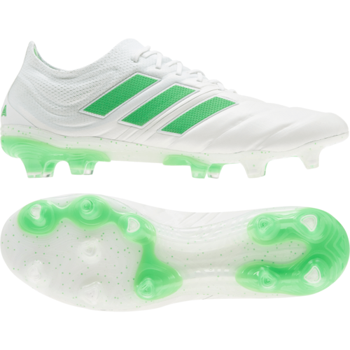 c2d97c1a5aff6 adidas Copa 19.1 Firm Ground Boots - White | SOCCERX