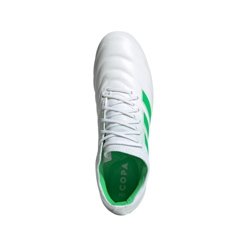 adidas Copa 19.1 Firm Ground Boots - White