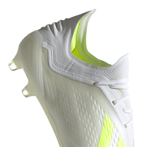 adidas X 18.1 Firm Ground Boots - White/Yellow