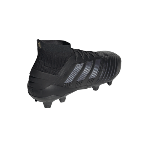 adidas Predator 19.1 Firm Ground Boots - Black
